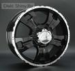 7,5 x 18 ET25 d77,8 PCD6*139,7 LS Wheels 214 BKF