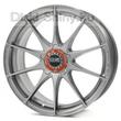 7,5 x 17 ET45 d75 PCD5*114,3 OZ Raсing Formula HLT Grigio Corsa Bright