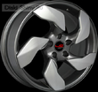 7,5 x 18 ET45 d70,3 PCD5*115 Replica GM533 Concept GM+plastic