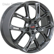 8,5 x 20 ET62 d66,6 PCD5*112 Replica MR537 LegeArtis Concept Gloss Graphite