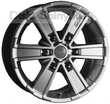 7 x 16 ET35 d78,1 PCD6*127 OZ Raсing OFF-Road 6 Metal Titanium
