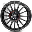 7 x 17 ET38 d68 PCD5*100 OZ Raсing Superturizmo GT Matt Black Red Lettering